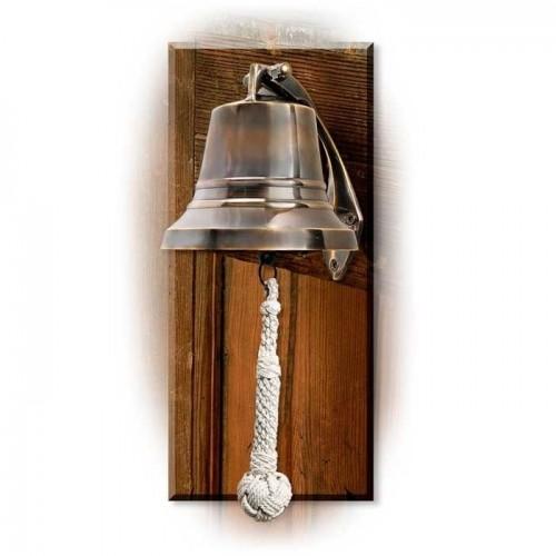 Mosiężny dzwon żeglarski