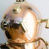 Potężny hełm nurka z mosiądzu Mark V - 45cm/10kg
